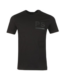 PS Paul Smith Mens Black PS Logo Tee