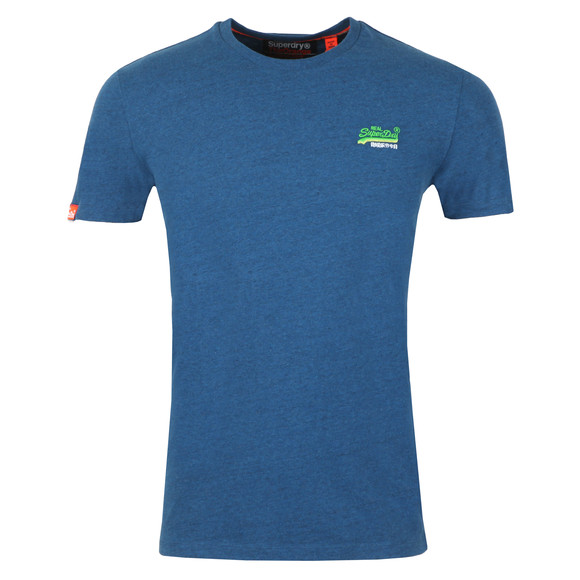 Superdry Mens Blue Vintage Embroider Tee main image