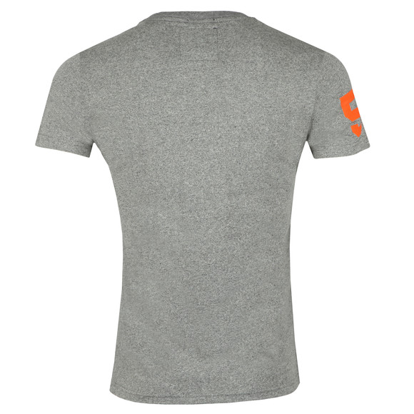 Superdry Mens Grey Premium Goods Duo Lite Tee main image