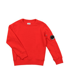 C.P. Company Undersixteen Boys Red Viewfinder Sweatshirt