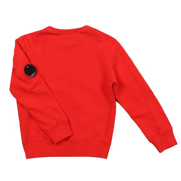 C.P. Company Undersixteen Boys Red Viewfinder Sweatshirt main image
