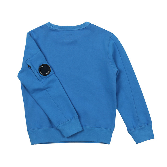 C.P. Company Undersixteen Boys Blue Viewfinder Sweatshirt main image