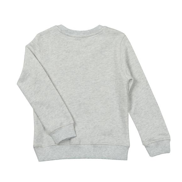 Kenzo Kids Girls Grey Embroidered Tiger Sweatshirt