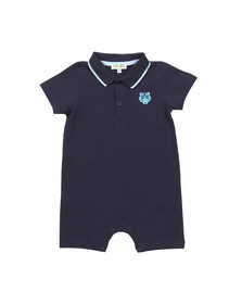 Kenzo Baby Boys Blue Polo All In One