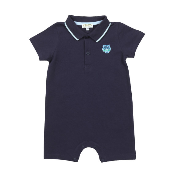 Kenzo Baby Boys Blue Polo All In One main image