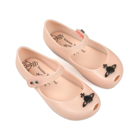 Melissa Girls Pink Mini Ultragirl Bow Shoe  main image