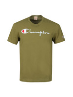 Reverse Weave Script Logo T Shirt