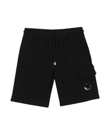 C.P. Company Undersixteen Boys Blue Viewfinder Pocket Jersey Shorts