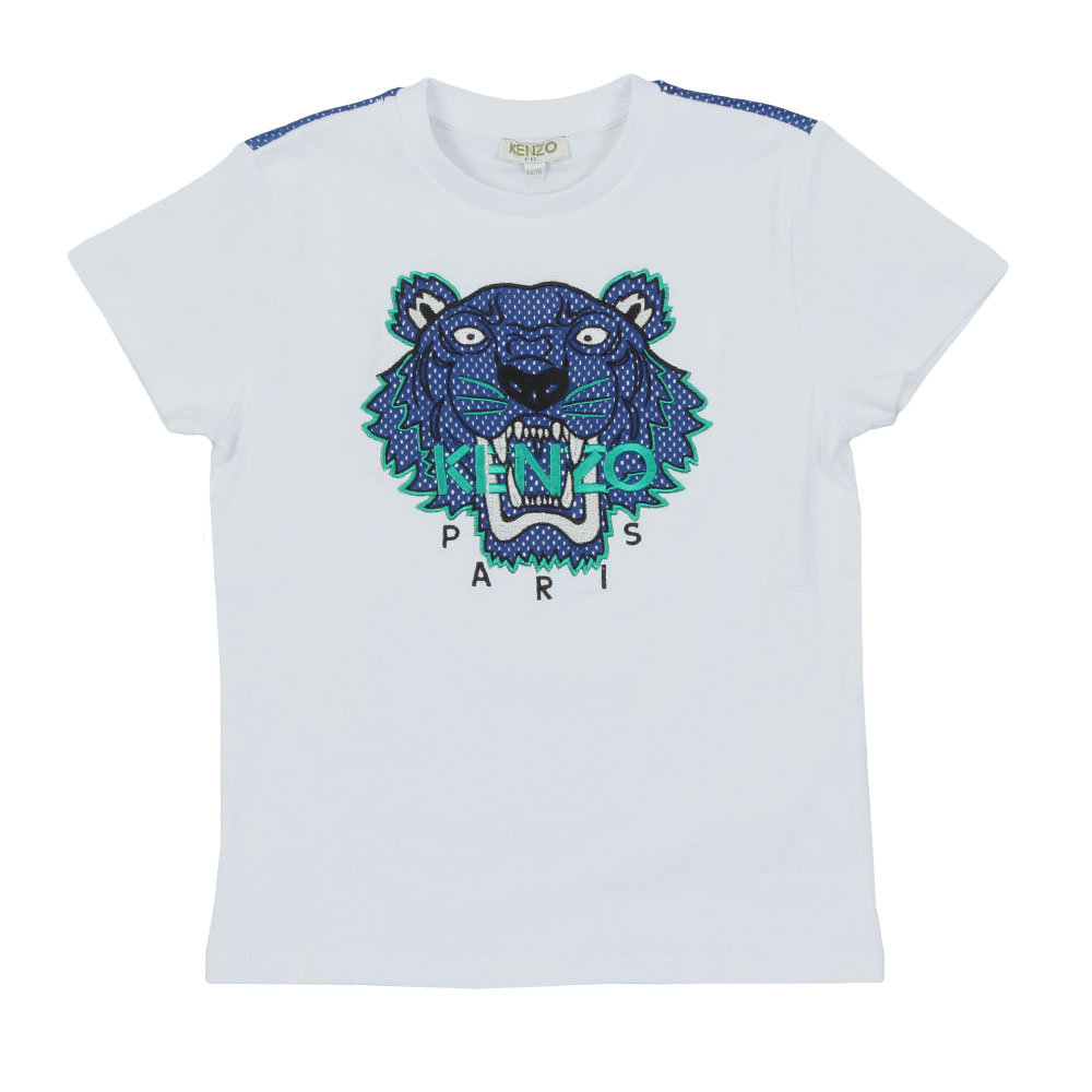 Perforated Tiger T Shirt main image