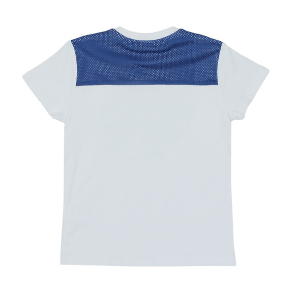 Kenzo Kids Boys White Perforated Tiger T Shirt main image
