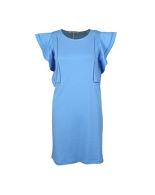 Maison Scotch Womens Blue Jersey Dress