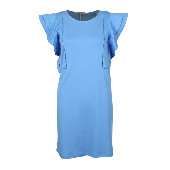 Maison Scotch Womens Blue Jersey Dress main image