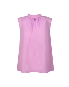 French Connection Womens Pink Crepe Light Sleeveless Top
