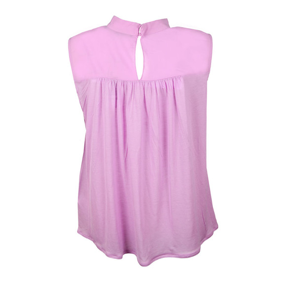 French Connection Womens Pink Crepe Light Sleeveless Top main image