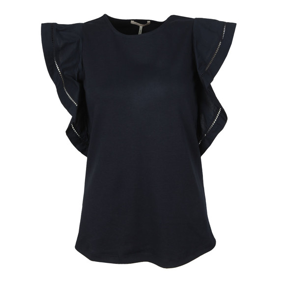 Maison Scotch Womens Blue Jersey Top main image