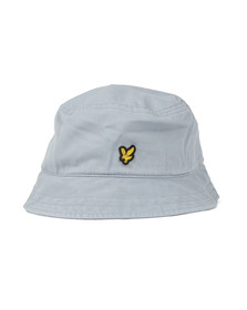 Lyle and Scott Mens Blue Washed Twill Bucket Hat