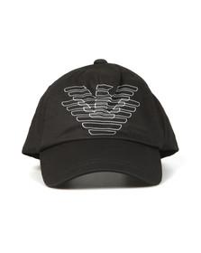 Emporio Armani Boys Black Eagle Logo Cap