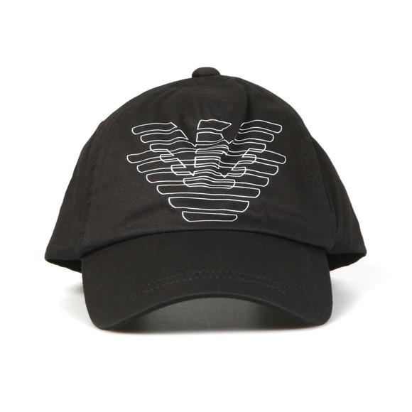 Emporio Armani Boys Black Eagle Logo Cap main image