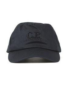 C.P. Company Mens Blue Logo Cap