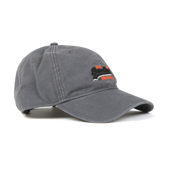 Superdry Mens Grey Wash Twill Cap main image