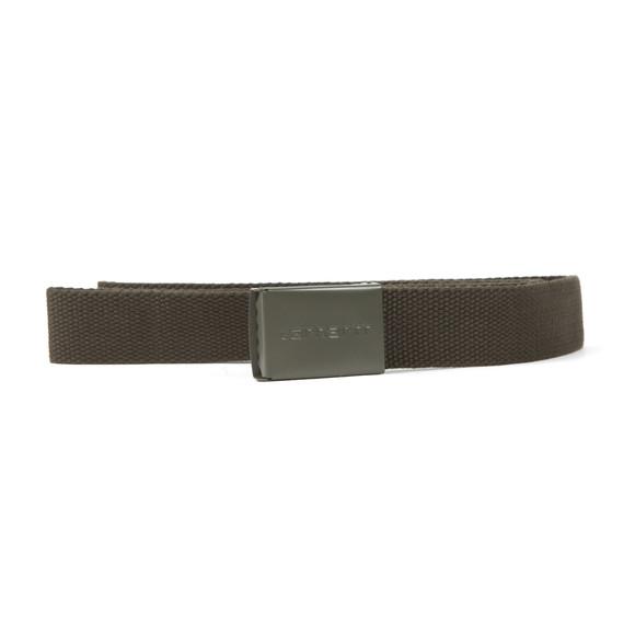 Carhartt WIP Mens Green Clip Belt Tonal