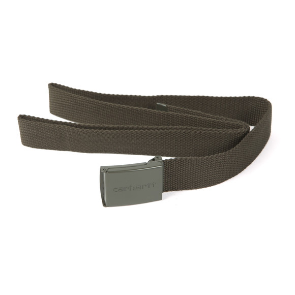Carhartt Mens Green Clip Belt Tonal main image