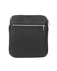 Emporio Armani Mens Black Emporio Armani Messenger Bag