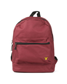 Lyle and Scott Mens Red Core Backpack