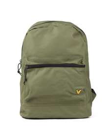 Lyle and Scott Mens Green Core Backpack
