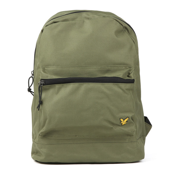 Lyle and Scott Mens Green Core Backpack main image