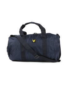 Lyle and Scott Mens Blue Lightweight Barrel Bag