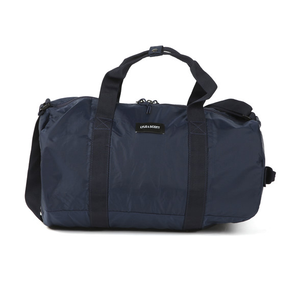 Lyle and Scott Mens Blue Lightweight Barrel Bag main image