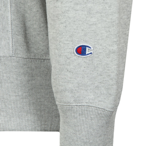 Champion Reverse Weave Mens Grey Small Logo Sweatshirt main image