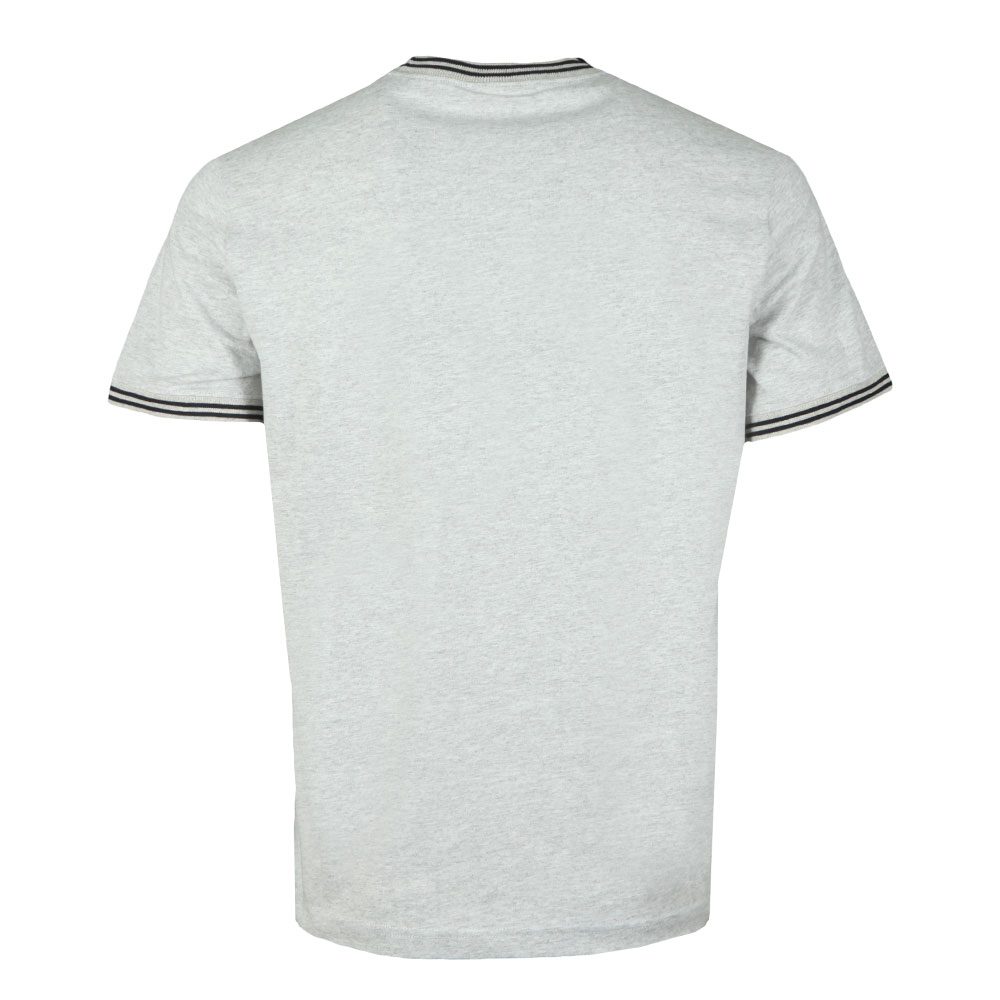 Reverse Weave Tipped Neck T Shirt main image