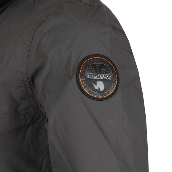 Napapijri Mens Grey Rainforest Summer Jacket main image