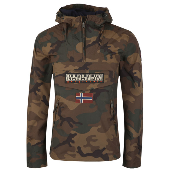Napapijri Mens Multicoloured Pocket Rainforest Jacket main image