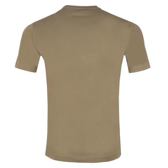 EA7 Emporio Armani Mens Green Large Logo Crew T Shirt main image
