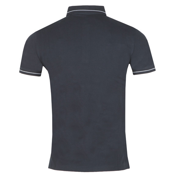 Emporio Armani Mens Blue Tipped Polo Shirt main image