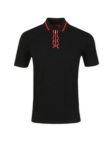 HUGO Mens Black Dolmar Polo Shirt