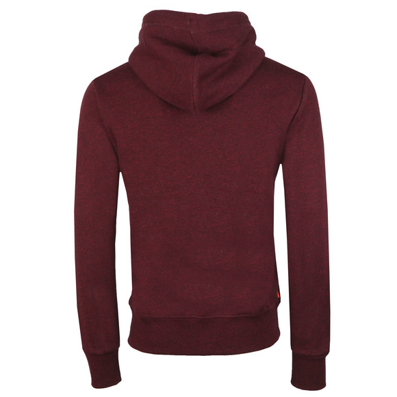 Superdry Mens Purple Orange Label Ziphood main image