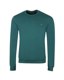 Farah Mens Green Pickwell Sweat