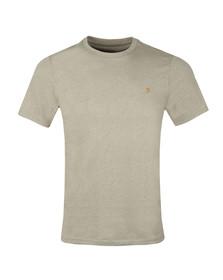 Farah Mens Beige Denny Crew T-Shirt