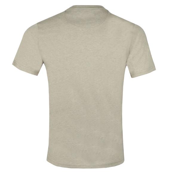 Farah Mens Beige Denny Crew T-Shirt main image