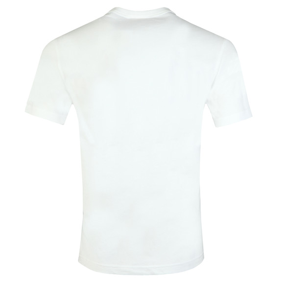Champion Reverse Weave Mens White Small Script Logo T Shirt main image