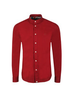 Slim Fit Collarless Shirt
