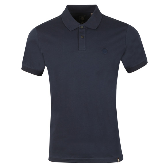 Pretty Green Mens Blue Jersey Polo Shirt main image