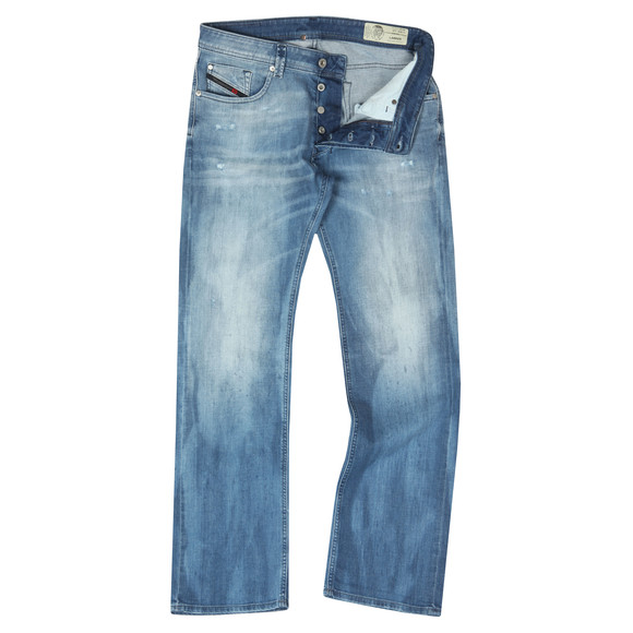 Diesel Mens Blue Larkee Straight Jeans