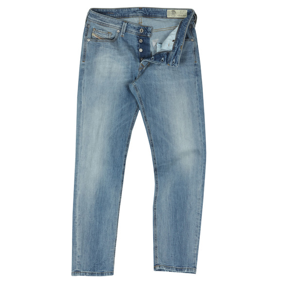 Diesel Mens Blue Larkee Beex Tapered Jean