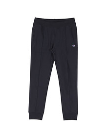 Champion Reverse Weave Mens Blue Small Logo Rib Cuff Jogger
