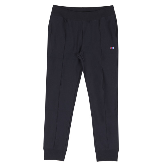 Champion Mens Blue Small Logo Rib Cuff Jogger main image